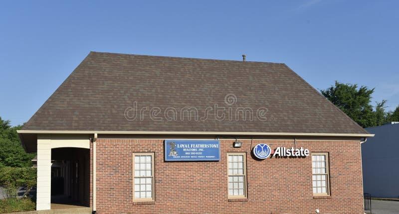 Featherstone Realty, Memphis, TN zdjęcia royalty free