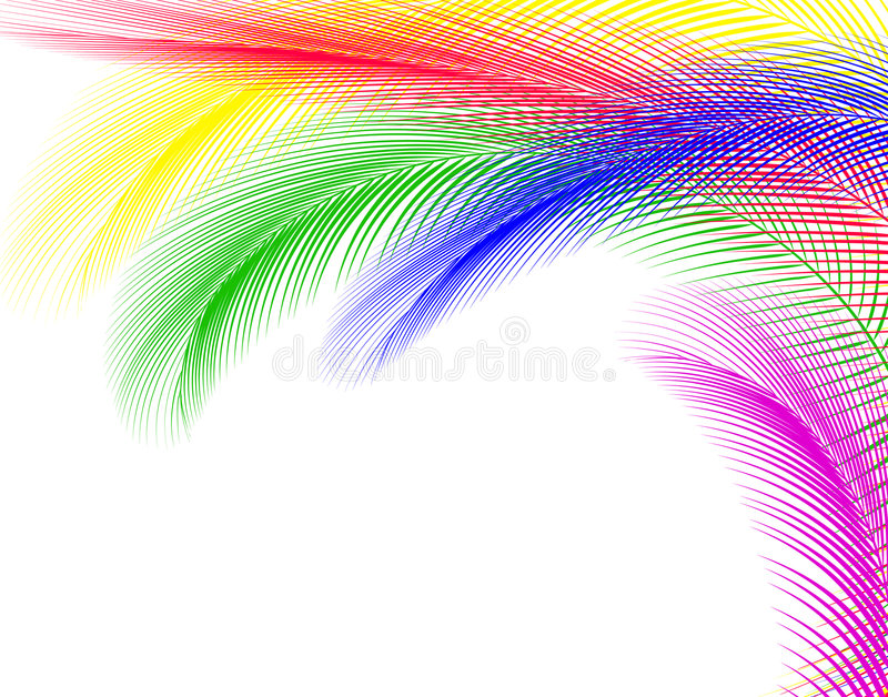 Feathery stock illustration