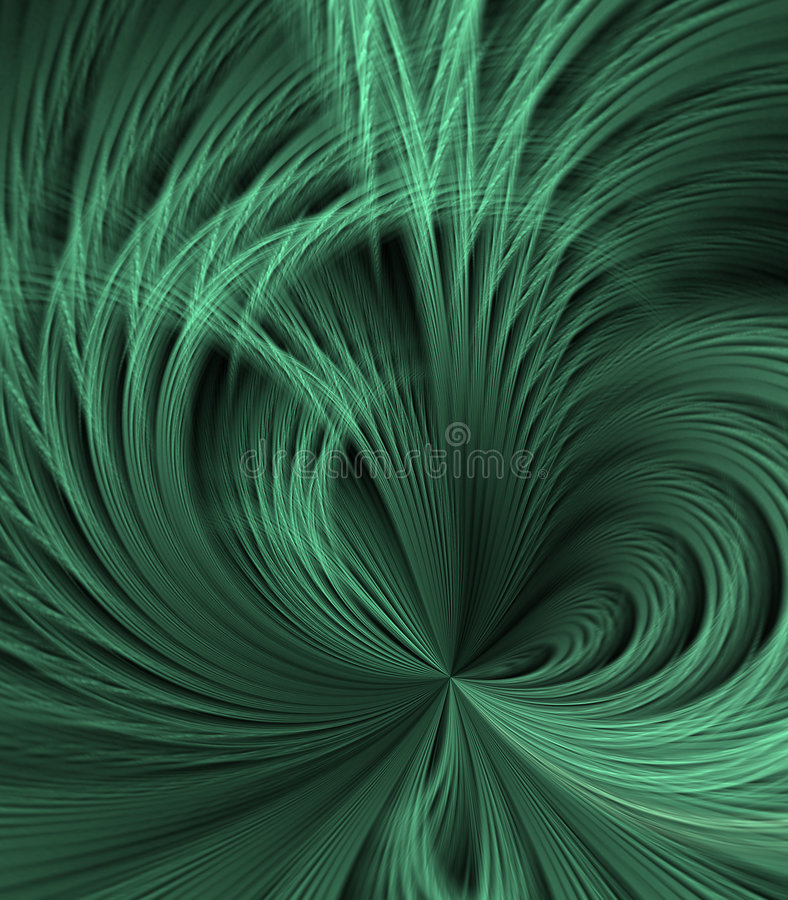 Download Feathery Green Abstract stock illustration. Image of background - 8258060