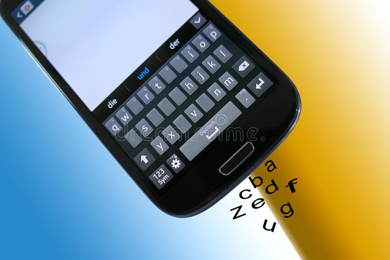 Feature Phone, Mobile Phone, Gadget, Communication Device royalty free stock photography