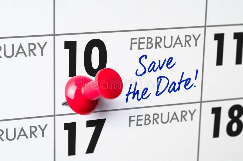 10 febbraio fotografie stock libere da diritti