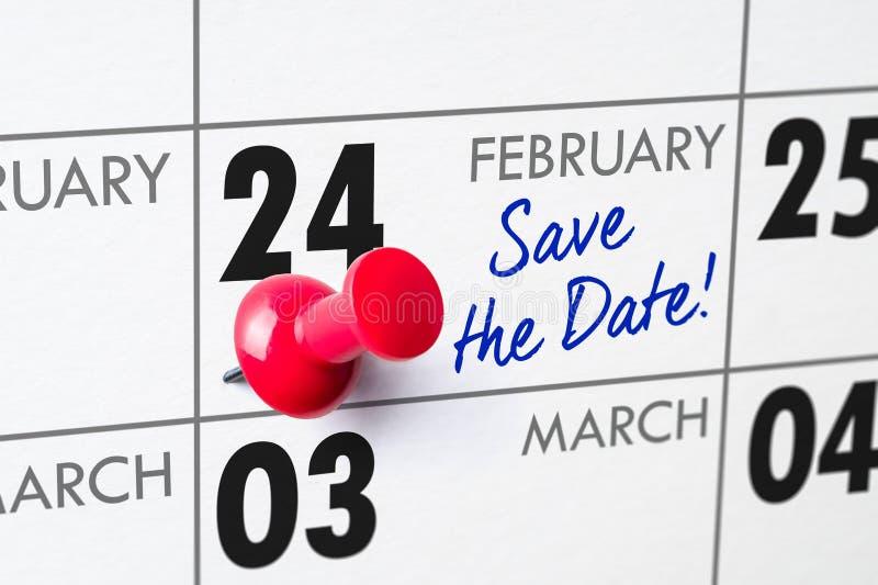 24 februari royalty-vrije stock foto's