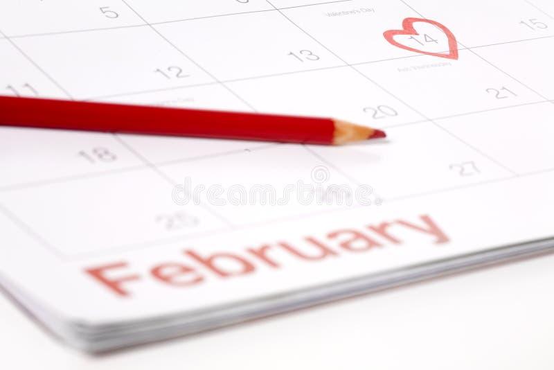 February 14th Royalty Free Stock Photos
