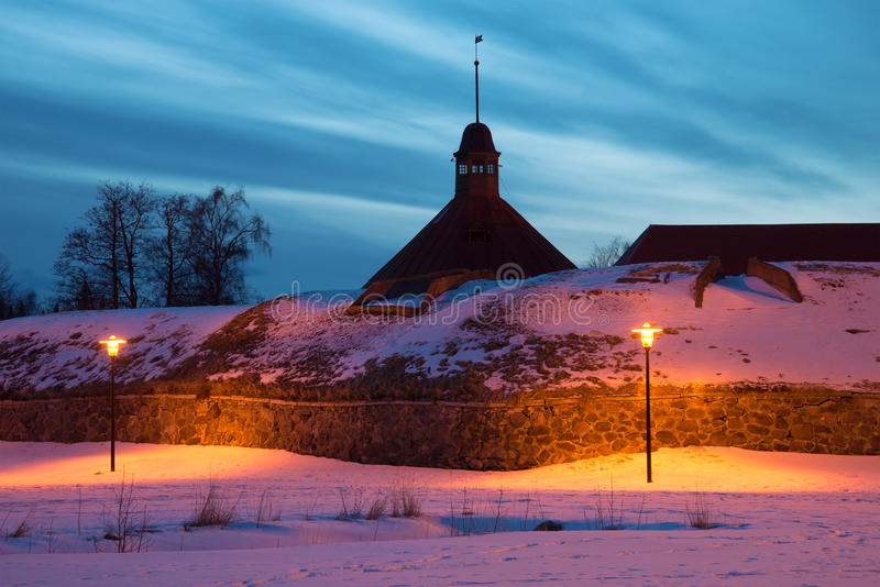 Download February Evening At The Bastion Of On Ancient Korela Fortress. Priozersk, Russia Stock Photo - Image of keksgolm, round: 88798332