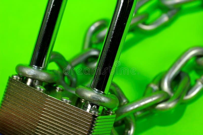 Fechamento E Corrente 2 Imagens de Stock