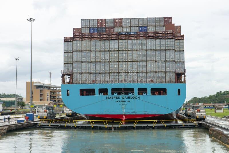 Fechamentos do canal do Panamá, curso, Miraflores imagens de stock royalty free
