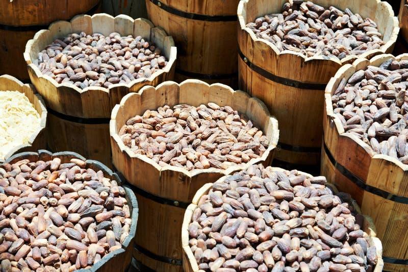 Download Fechas Secadas En El Mercado Callejero Del Este Foto de archivo - Imagen de secado, fecha: 44853124