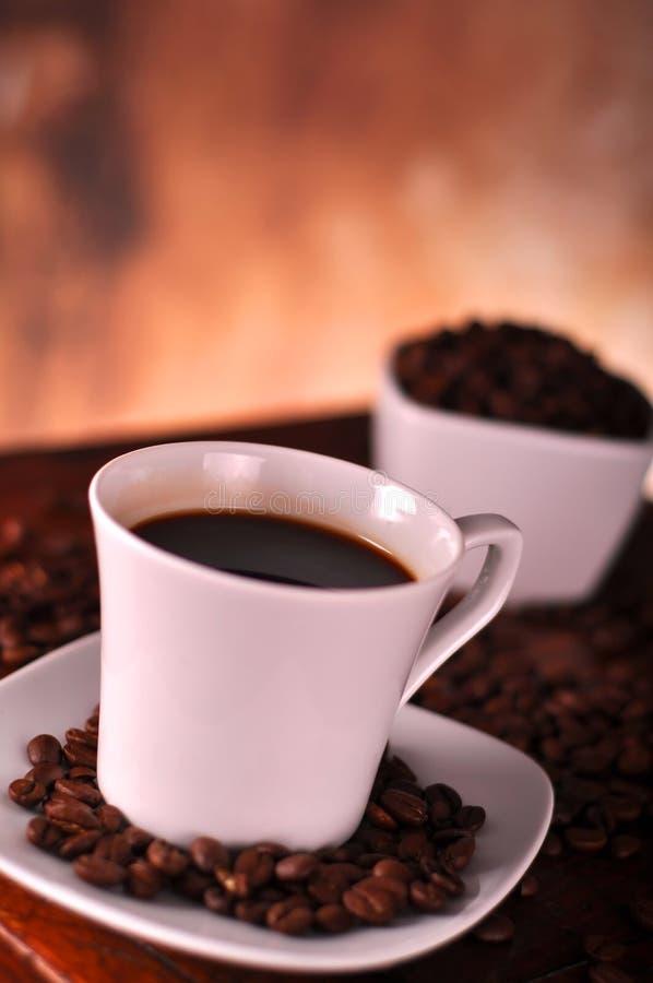 Feche acima da chávena de café imagem de stock