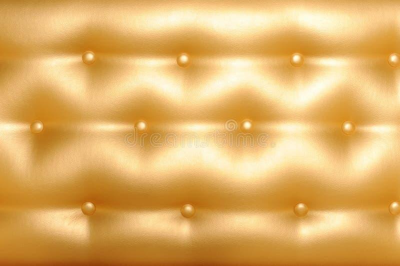 Feche acima da foto do upholstery de couro foto de stock royalty free