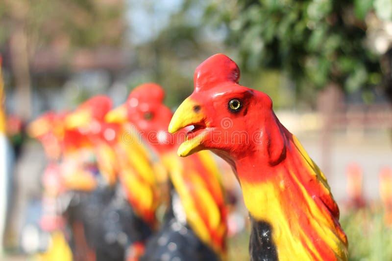 Download Escultura do galo imagem de stock. Imagem de animal, artificial - 29847725