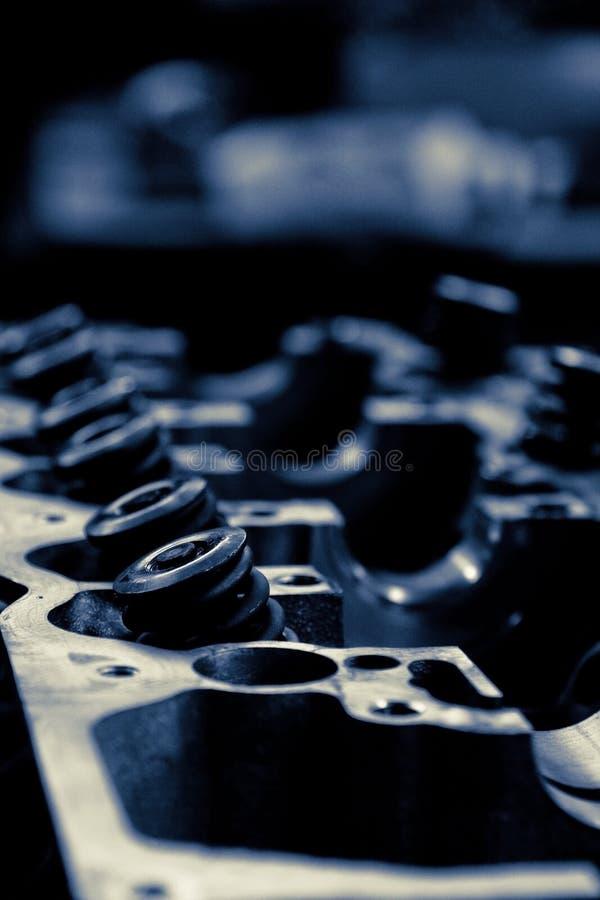 Válvula do motor de automóveis imagens de stock