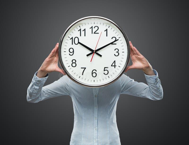 Pressão de tempo imagem de stock