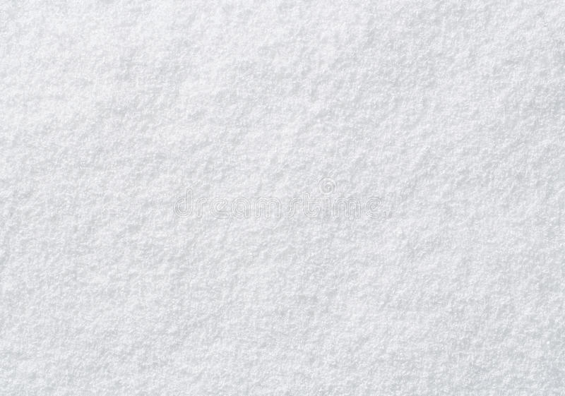 Feche acima da neve branca imagem de stock royalty free