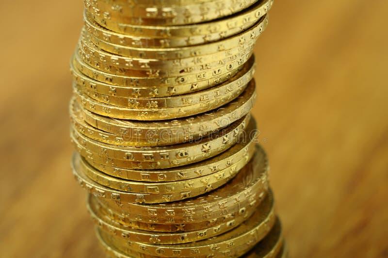 Moeda francesa do ouro, Napoleon foto de stock