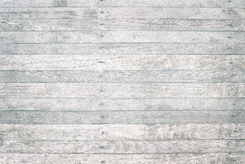 Feche acima da tabela de madeira rústica com textura da grão no estilo do vintage fotos de stock