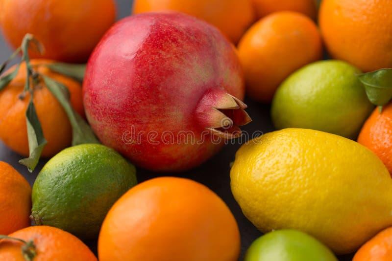 Feche acima das citrinas foto de stock royalty free