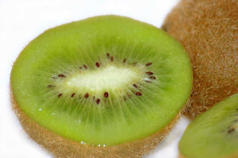 Feche acima das frutas de quivi foto de stock