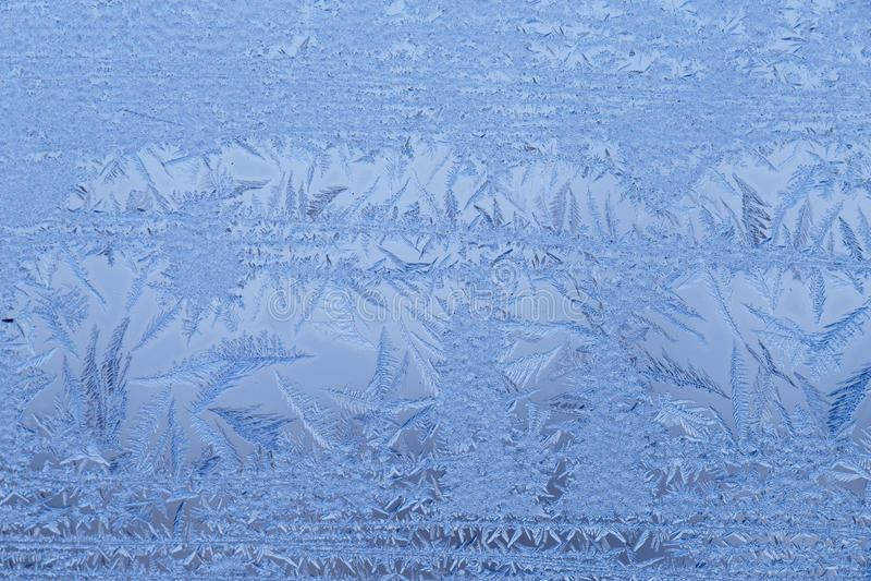 Feche acima de Frost foto de stock royalty free