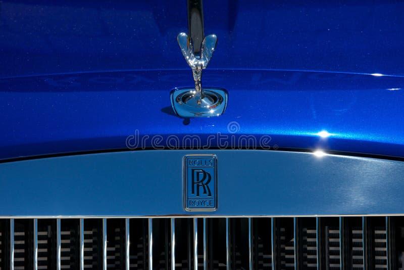 Feche acima de Rolls Royce foto de stock royalty free