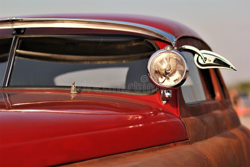 Feche acima de um carro do vinatge fotografia de stock royalty free