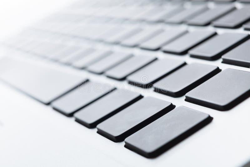 Feche acima de um teclado fotos de stock royalty free