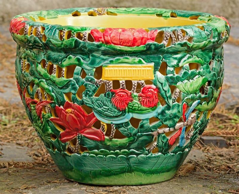 Feche acima de uma porcelana chinesa foto de stock royalty free