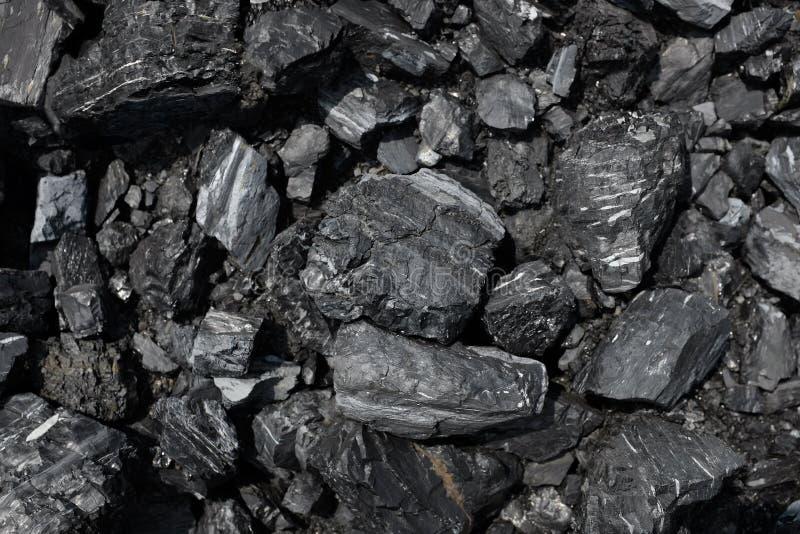 Feche acima do carvão foto de stock royalty free