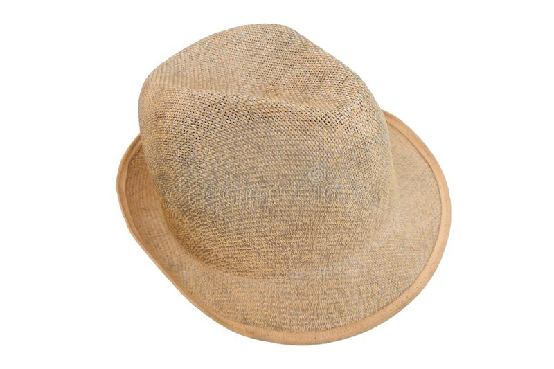 Feche acima do chapéu da mão imagens de stock royalty free