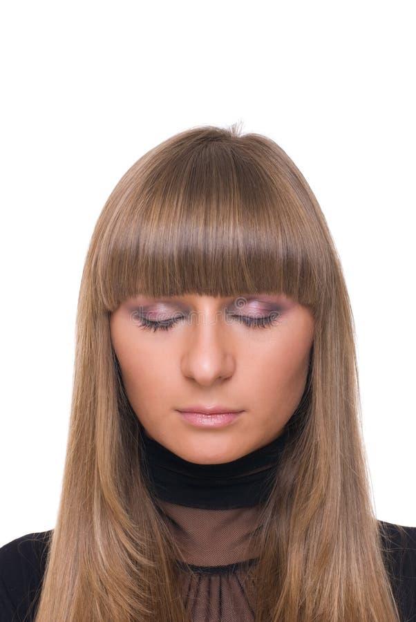Download Feche Acima Do Retrato Da Mulher De Negócio Certa Nova Imagem de Stock - Imagem de face, incorporado: 12809791