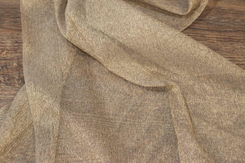 Feche acima do tule bonito Amostra completa da tela das cortinas Textura, fundo, teste padrão Design de interiores Tule do laço d imagens de stock royalty free
