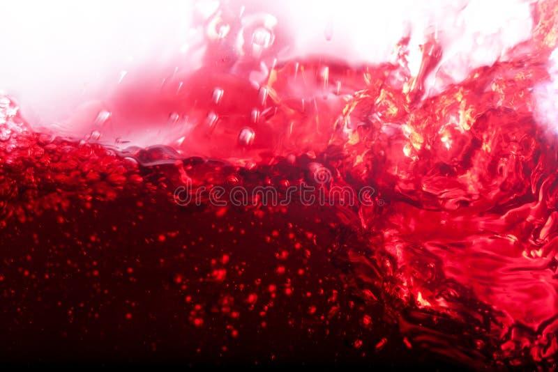 Feche acima do vinho fotografia de stock