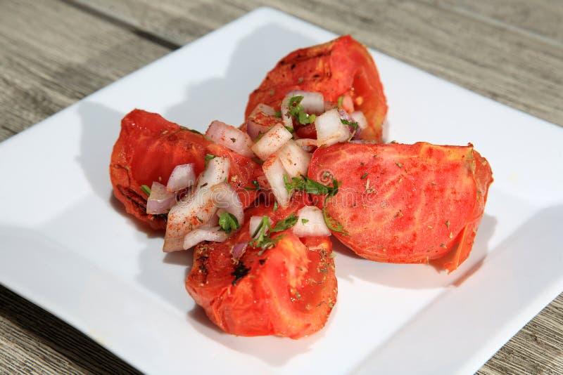 Download Tomates grelhados imagem de stock. Imagem de tomate, cozinhado - 29832365
