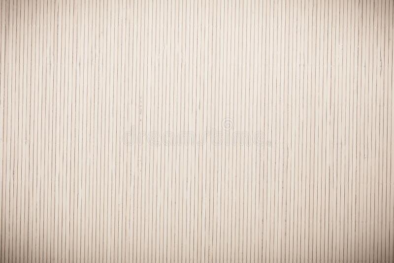 Feche acima esteira de bambu cinzenta cinzenta do teste padrão listrado da textura do fundo fotos de stock royalty free