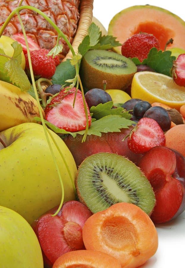 Feche acima na fruta do verão imagens de stock royalty free