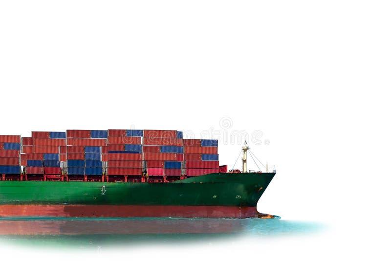 Feche honesto do navio de recipiente imagem de stock royalty free