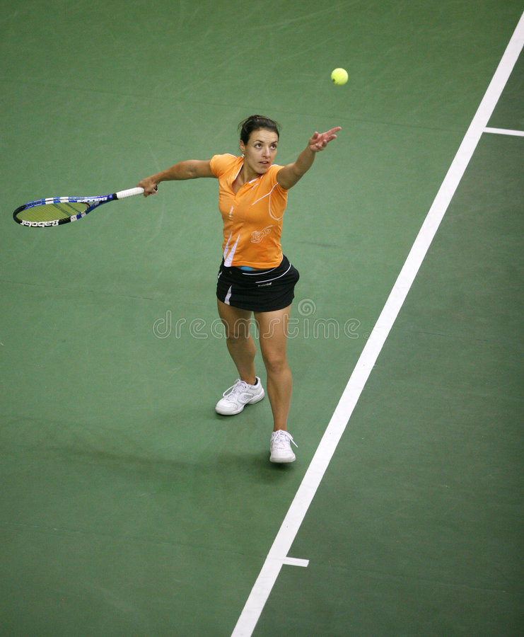 Free Fed Cup Czech Republic Vs. Spain Stock Images - 8107674