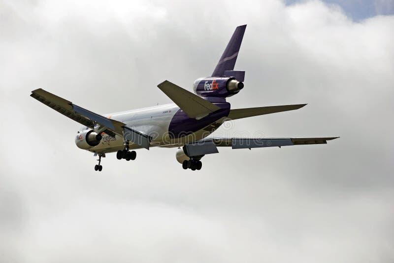 Fed Ex Cargo Aircraft imagenes de archivo