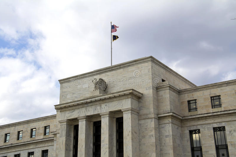 FED. Headquarter of the Federal Reserve in Washington, DC, USA,FED stock photos