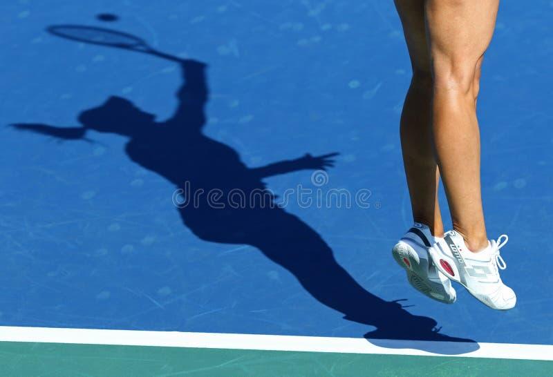 FedCup-Tennismatch Ukraine gegen Argentinien lizenzfreies stockfoto