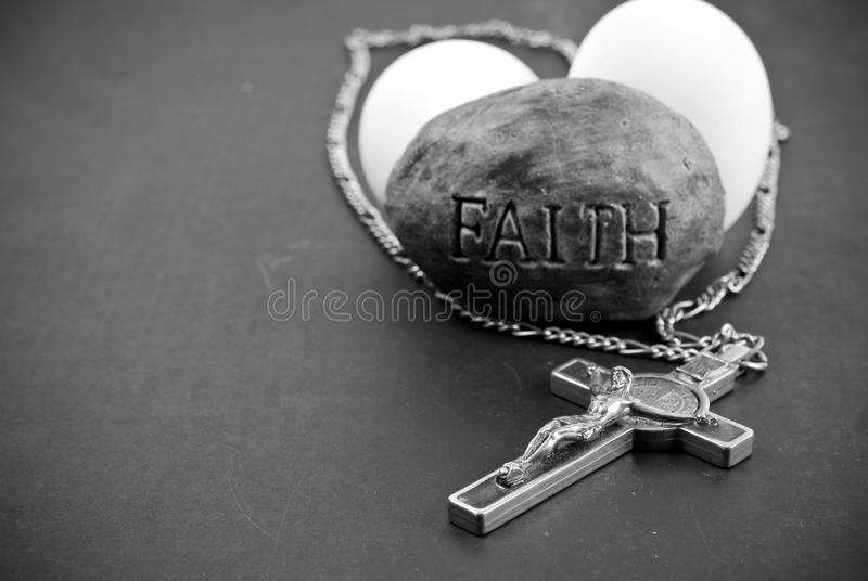 Fede nella religione fotografie stock libere da diritti