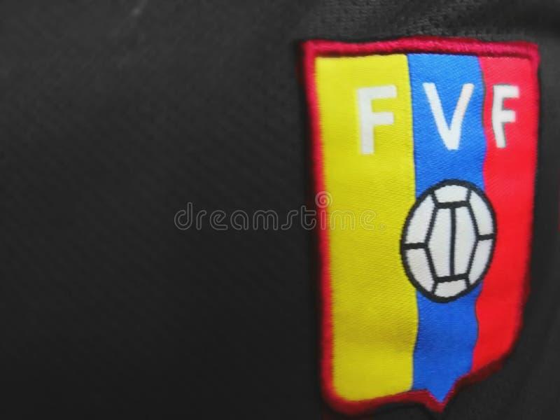 Federação venezuelana do futebol imagens de stock