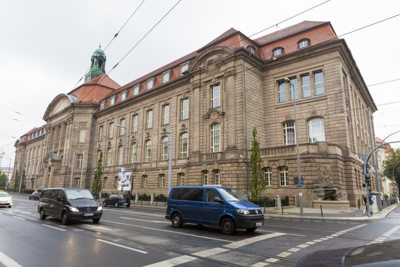 Federaal Ministerie van Economie en Technologie de bouw van Berlijn royalty-vrije stock foto's