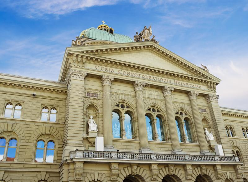 Federaal Paleis van Zwitserland royalty-vrije stock fotografie