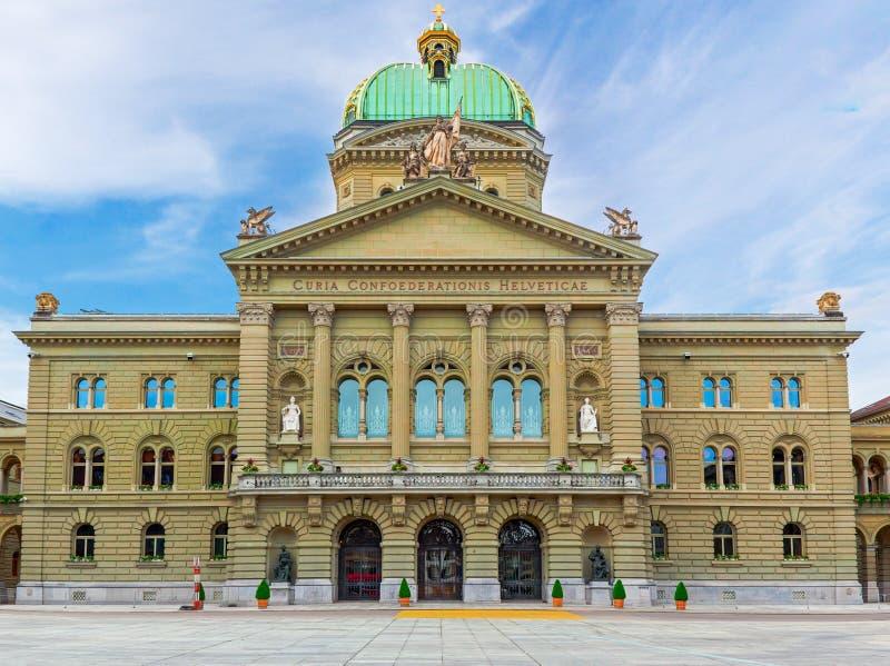 Federaal Paleis van Zwitserland stock fotografie