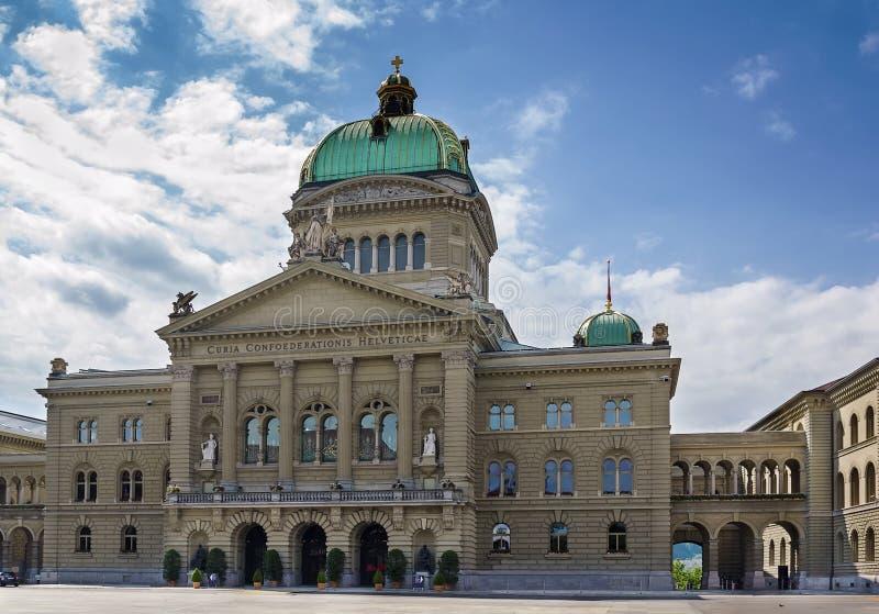 Federaal Paleis van Zwitserland, Bern royalty-vrije stock foto