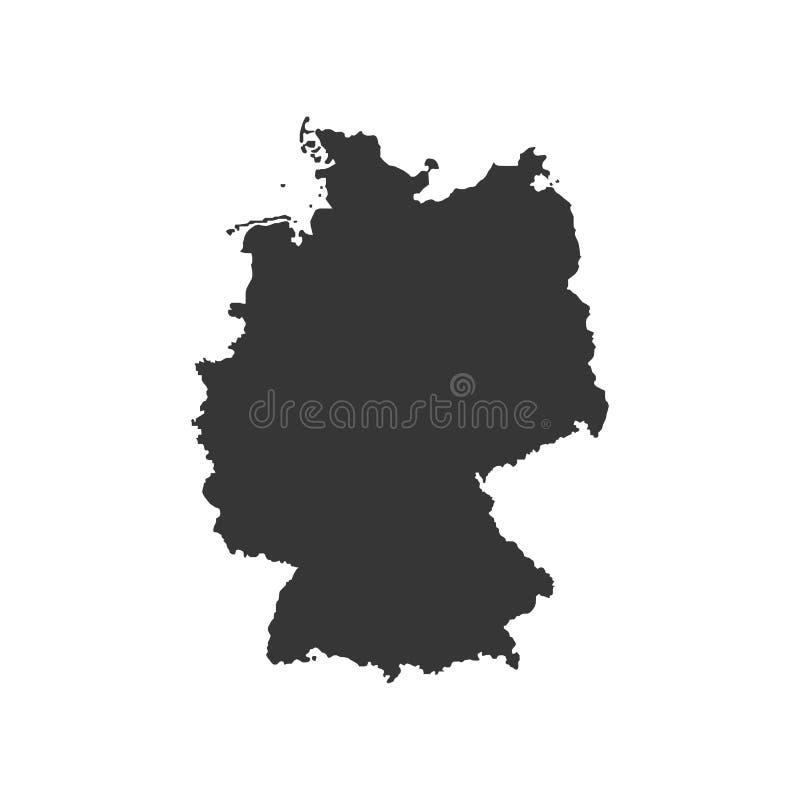 Federacyjna republika Niemcy royalty ilustracja