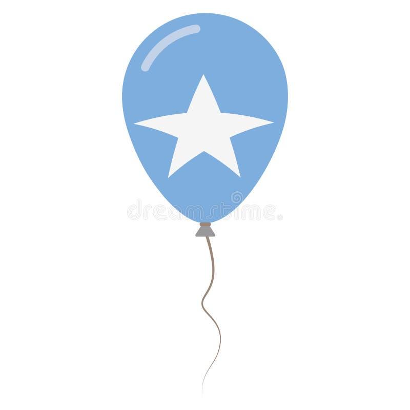 Federacyjna republika Somalia krajowi kolory ilustracji
