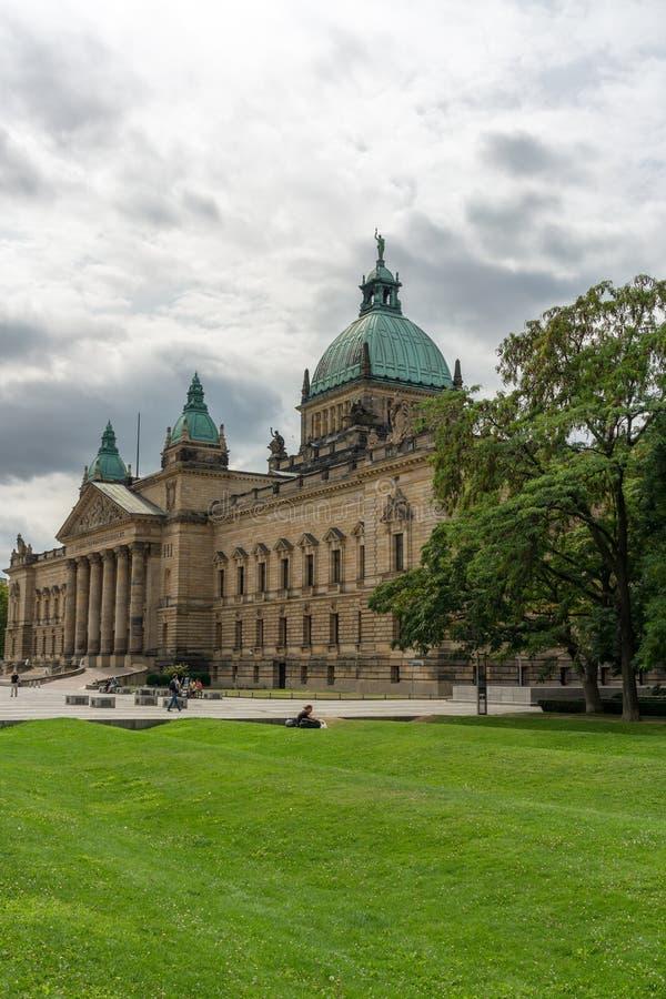 Federacyjny Administracyjny sąd w Leipzig obraz royalty free