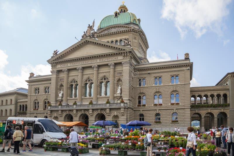 federacyjny Bern pałac Switzerland obraz royalty free