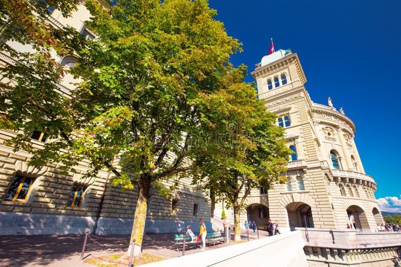 Federacyjny pałac Szwajcaria w Bern, Szwajcaria obraz stock